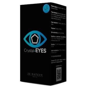 Средство для восстановление зрения Crystal Eyes