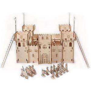 Детский конструктор Деревянная рыцарская крепость